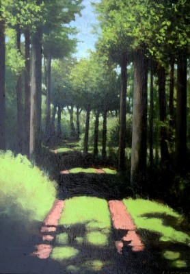 Scottish Artist Louis S McNALLY - The Path
