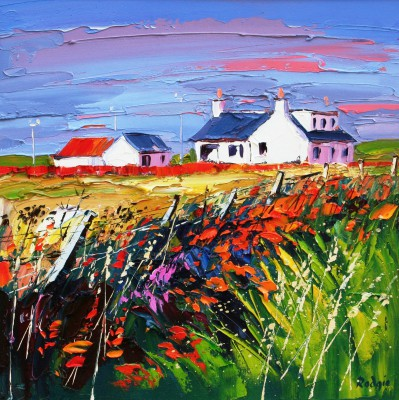 Scottish Artist Lynn RODGIE - Wild Flowers