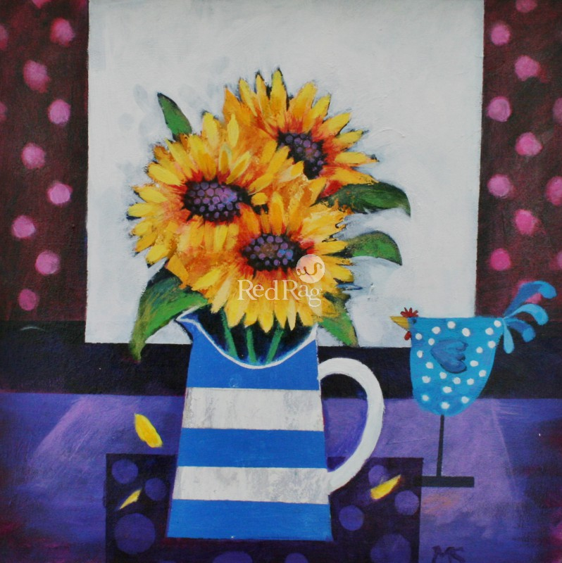 Mairi STEWART - Sunflowers