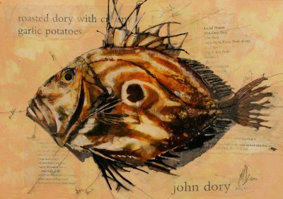 Scottish Artist Malcolm CHEAPE - John Dory