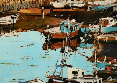 Scottish Artist Malcolm CHEAPE - Low Tide