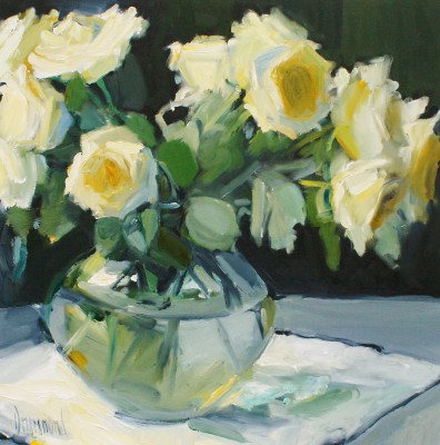 Scottish Artist Marion DRUMMOND - Abigails Roses Day 6