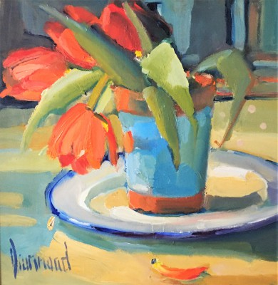 Marion DRUMMOND - Little Red Tulips