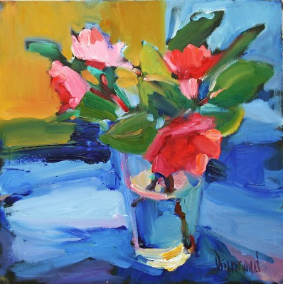 Scottish Artist Marion DRUMMOND - Camellia