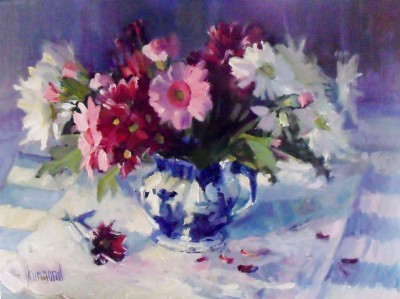 Summer Flowers painting by artist Marion DRUMMOND