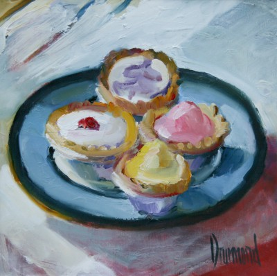 Time for Tea painting by artist Marion DRUMMOND