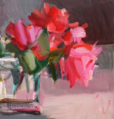 Scottish Artist Marion DRUMMOND - Hybrid Teas