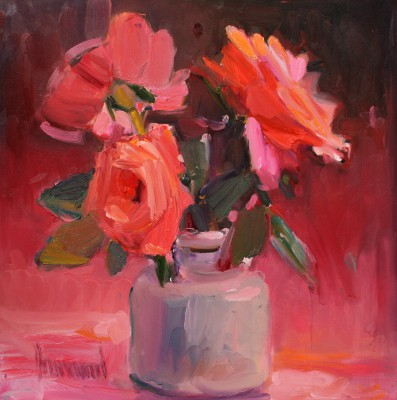 Scottish Artist Marion DRUMMOND - Jans Roses