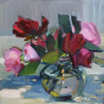 Posy painting by artist Marion DRUMMOND