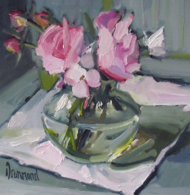 Scottish Artist Marion DRUMMOND - Rosy Posy