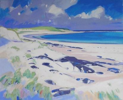 Marion THOMSON - Rocks and Shore, Islay