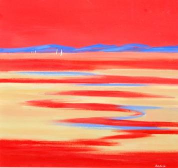 Mary BATCHELOR - Big Red Sunset