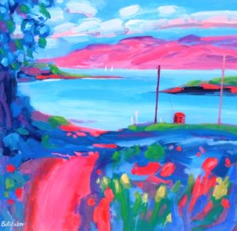 Mary BATCHELOR - Road to Ferry, Lismore Island