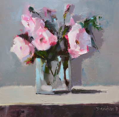 Scottish Artist Mary DAVIDSON - Peonies Study