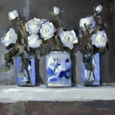 Scottish Artist Mary DAVIDSON - Oriental Vase