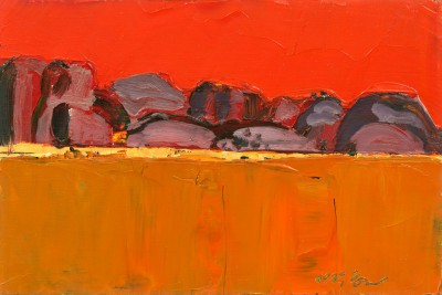 Scottish Artist Mhairi McGREGOR - Olgas, Northern Territory