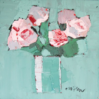 Scottish Artist Mhairi McGREGOR - Roses III