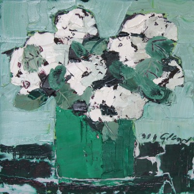 Scottish Artist Mhairi McGREGOR - Hydrangeas