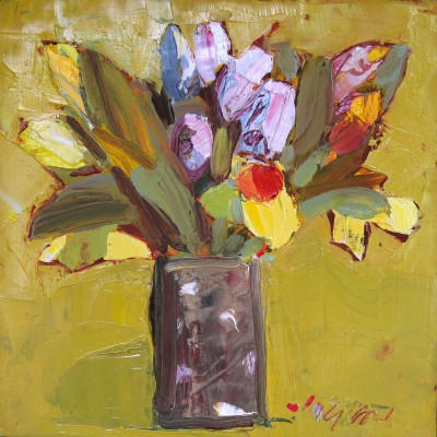 Scottish Artist Mhairi McGREGOR - Mixed Flowers