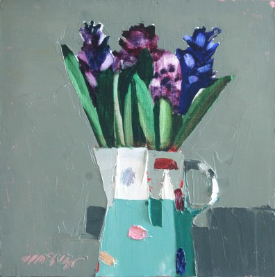 Scottish Artist Mhairi McGREGOR - Hyacinths