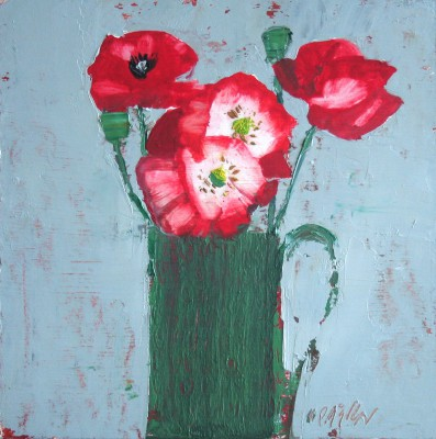Scottish Artist Mhairi McGREGOR - Poppies