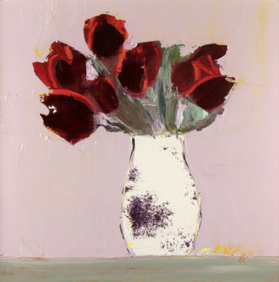 Scottish Artist Mhairi McGREGOR - Red Tulips