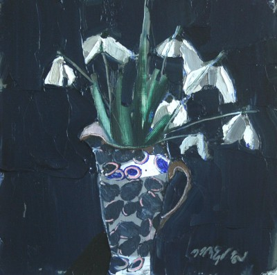 Scottish Artist Mhairi McGREGOR - Snowdrops