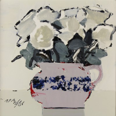 Scottish Artist Mhairi McGREGOR - White Roses
