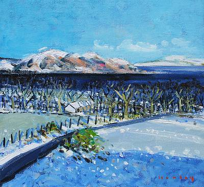 Scottish Artist Mike HEALEY - Snow and Sunshine