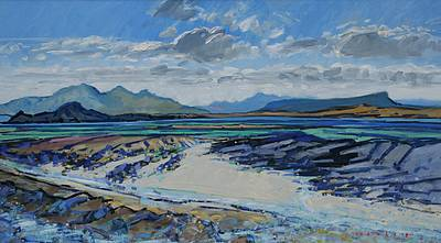 Scottish Artist Mike HEALEY - Magic Light Western Isles