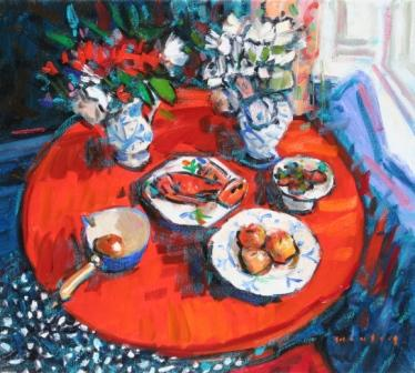 Mike HEALEY - Still Life with Lobster