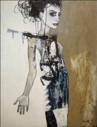 Scottish Artist Margaretann BENNETT - Miss Underworld