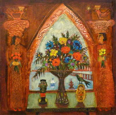 Scottish Artist Morag MUIR - Corinthian Wedding