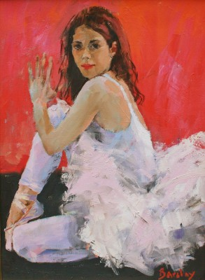 Scottish Artist Muriel BARCLAY - Hand Gesture