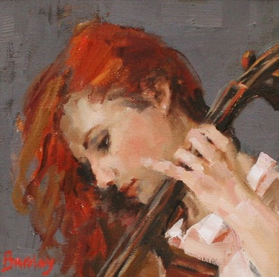 Scottish Artist Muriel BARCLAY - Ginger Beat