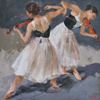 Scottish Artist Muriel BARCLAY - Dance Tune