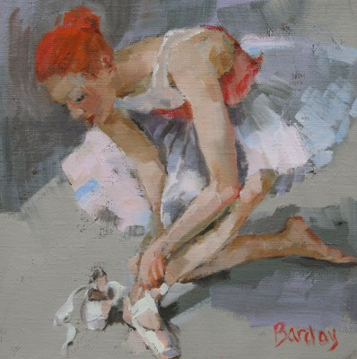 Scottish Artist Muriel BARCLAY - Knotted