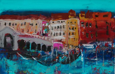 Scottish Artist Nael HANNA - Venice