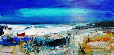 Scottish Artist Nael HANNA - Crystal Water, Fife