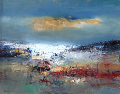 Scottish Artist Nael HANNA - West Sand
