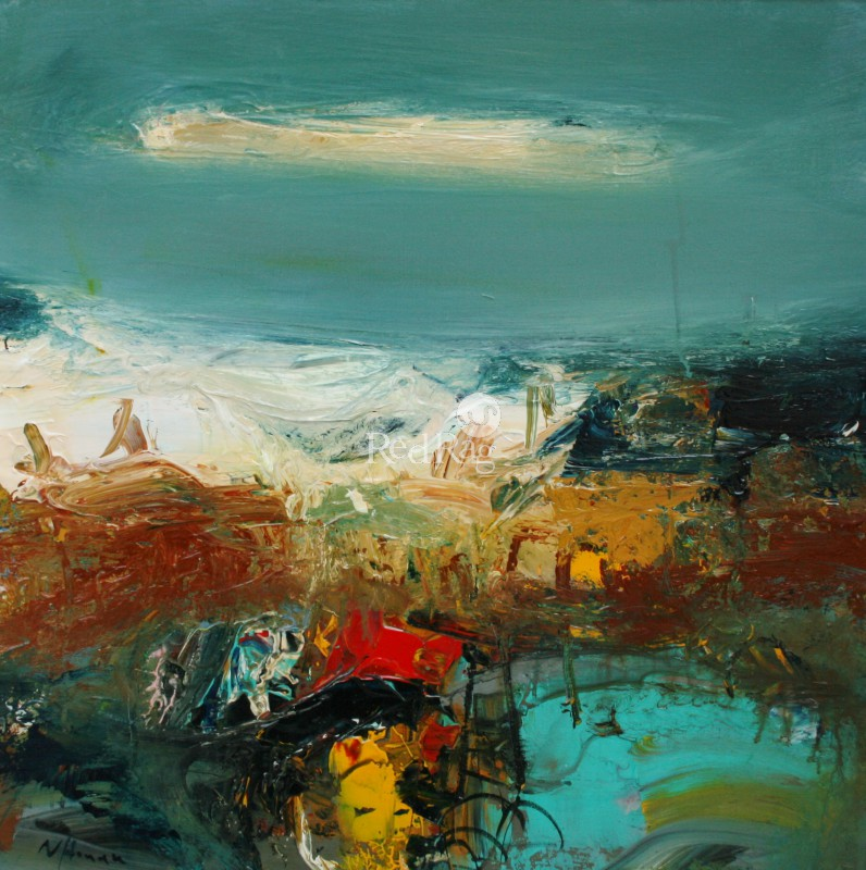 Nael HANNA - Turquoise Rock Pool, Pittenweem