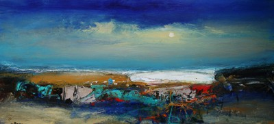 Scottish Artist Nael HANNA - Angus, Shore