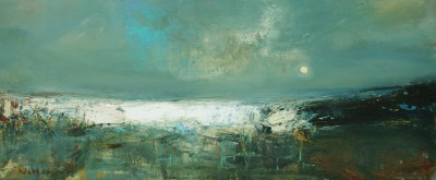 Scottish Artist Nael HANNA - Carnoustie Waters
