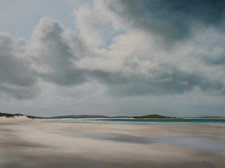 Nicola WAKELING - Scattered Sunlight, Clachan Sands