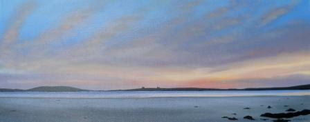 Scottish Artist Nicola WAKELING - Gloaming Walk