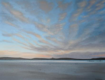 Scottish Artist Nicola WAKELING - It's Late