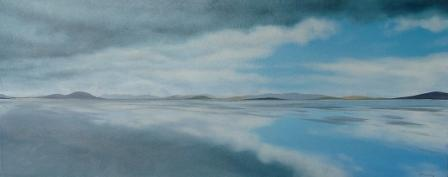 Scottish Artist Nicola WAKELING - Long Walk, Grenitote