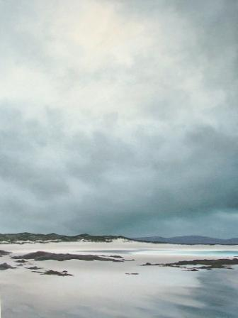 Scottish Artist Nicola WAKELING - It was Sunny when I Set Out