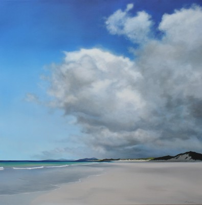 Nicola WAKELING - Summer Sun and Cloud, Berneray