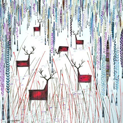 Scottish Artist Nikki MONAGHAN - Stag Party